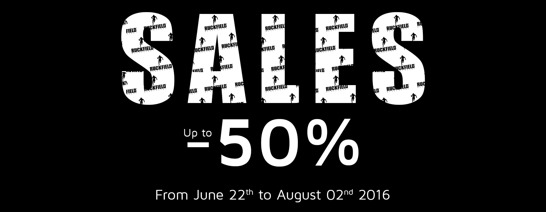 Ruckfiled and Sebastien Chabal Sales! Up to -50%