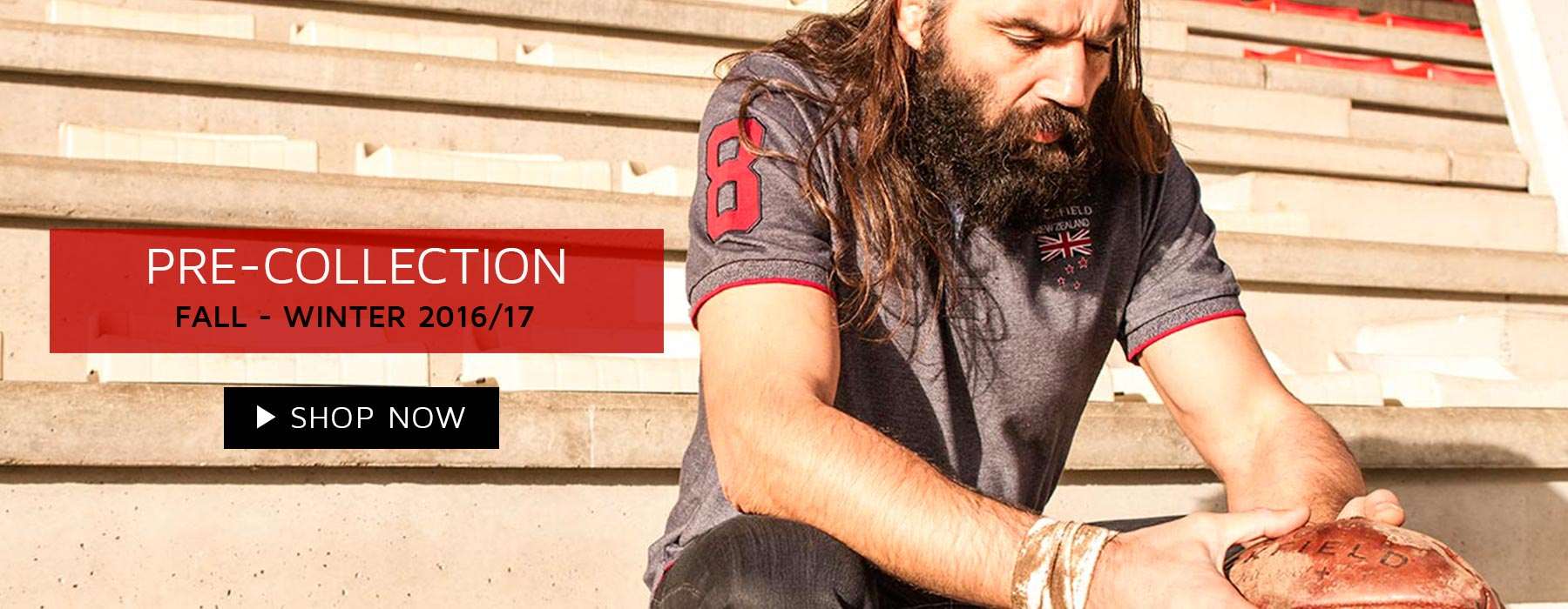 Ruckfiled and Sebastien Chabal New Collection Fall Winter 2016! Rugbywear for men, rugby polo shirt XXL XXXL XXXXL 5XL