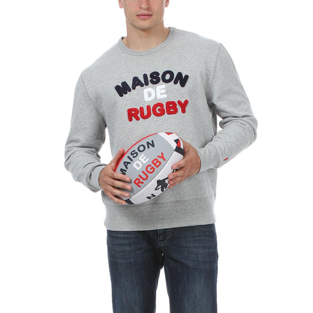 Ruckfield - Sweat Maison de rugby - Gris