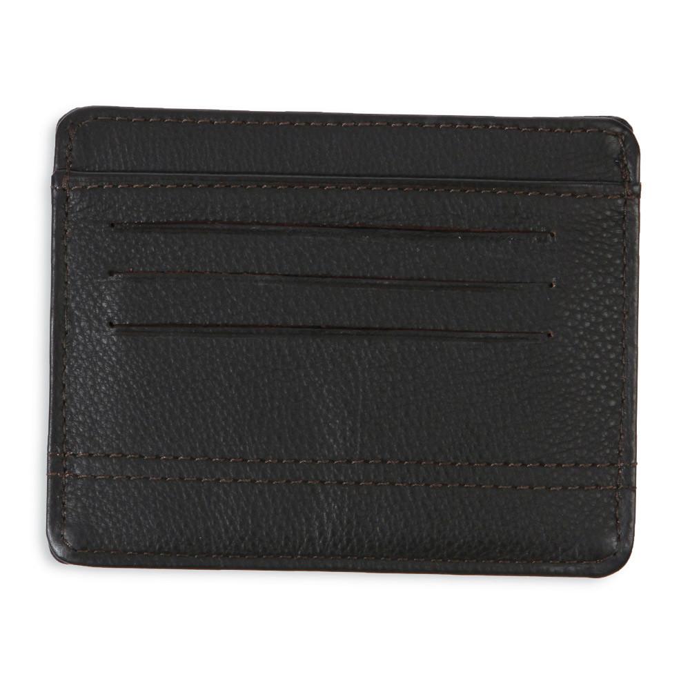 Porte carte en cuir marron ruckfield for Porte a porte finsbury park