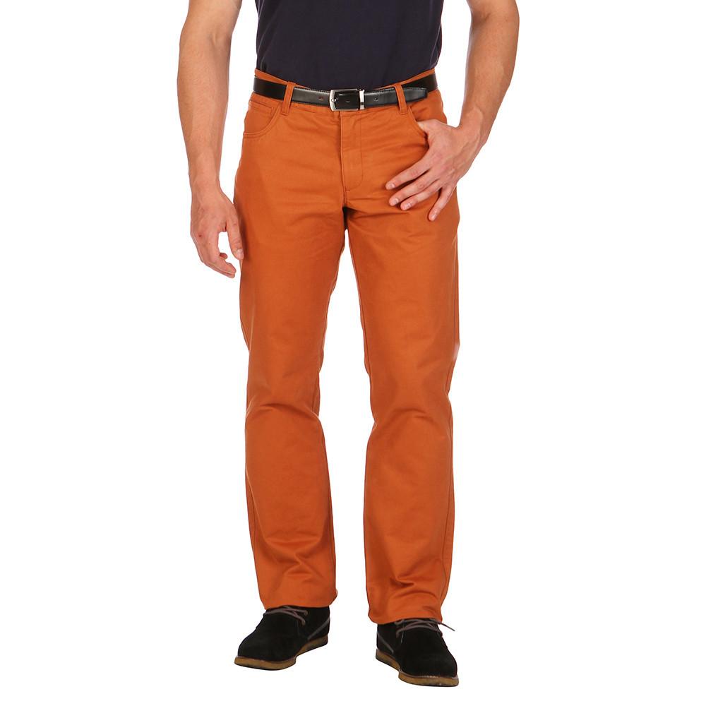 pantalon chino orange ruckfield. Black Bedroom Furniture Sets. Home Design Ideas