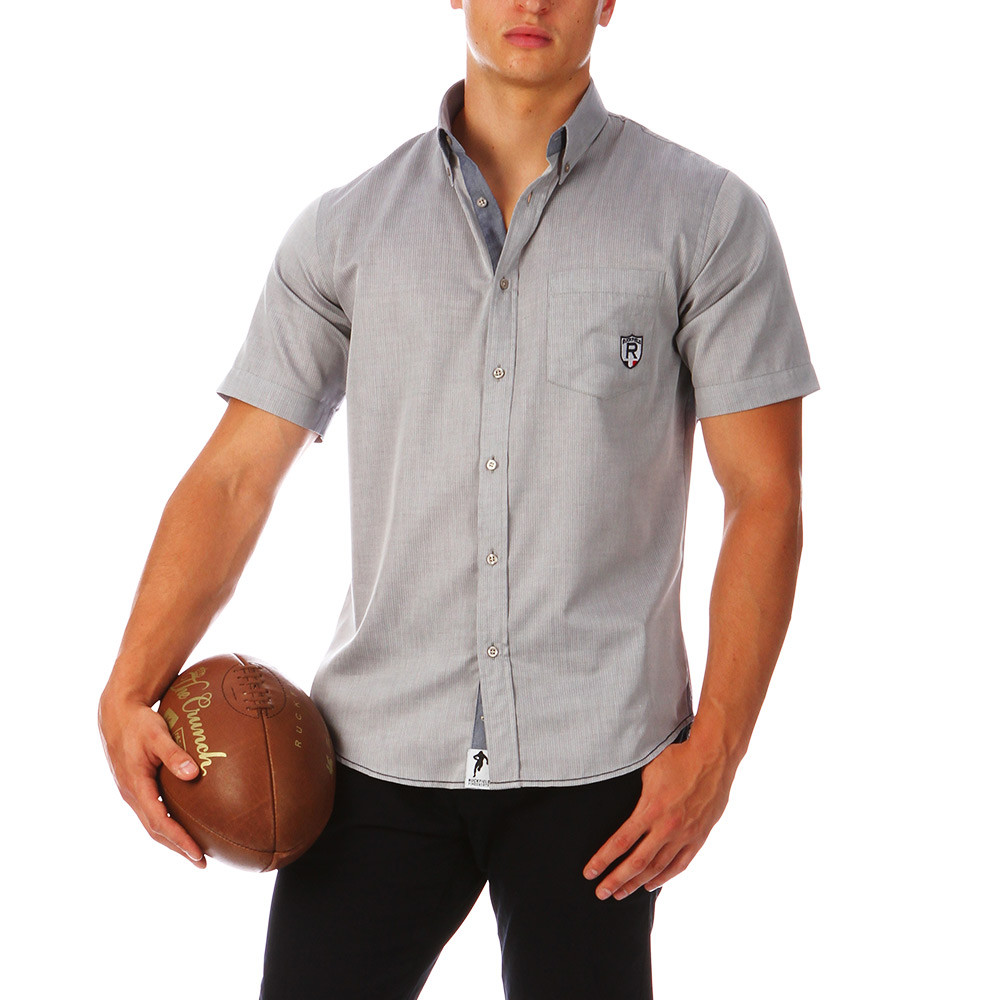 chemise rugby homme france chemise rugby manches courtes hauts homme ruckfield. Black Bedroom Furniture Sets. Home Design Ideas