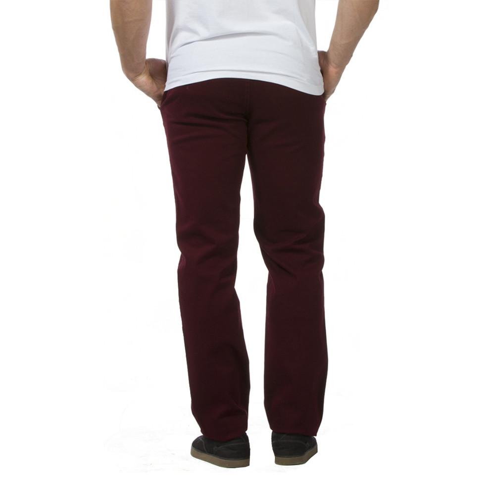 pantalon chino bordeaux chabal jeans et pantalons bas. Black Bedroom Furniture Sets. Home Design Ideas