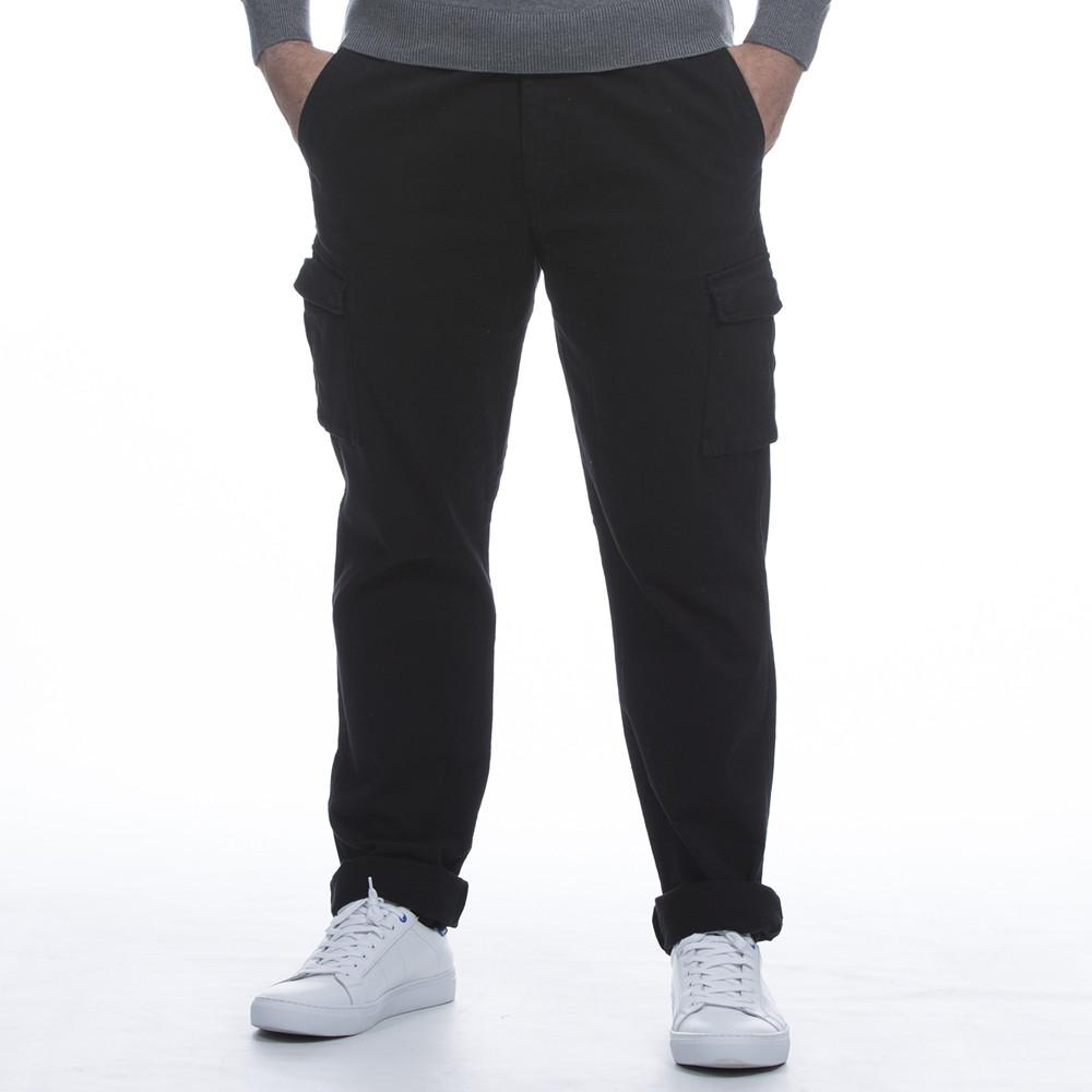 pantalon cargo noir jeans et pantalons bas homme. Black Bedroom Furniture Sets. Home Design Ideas