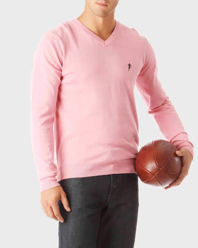 Pull Col V Rugby Essentiels