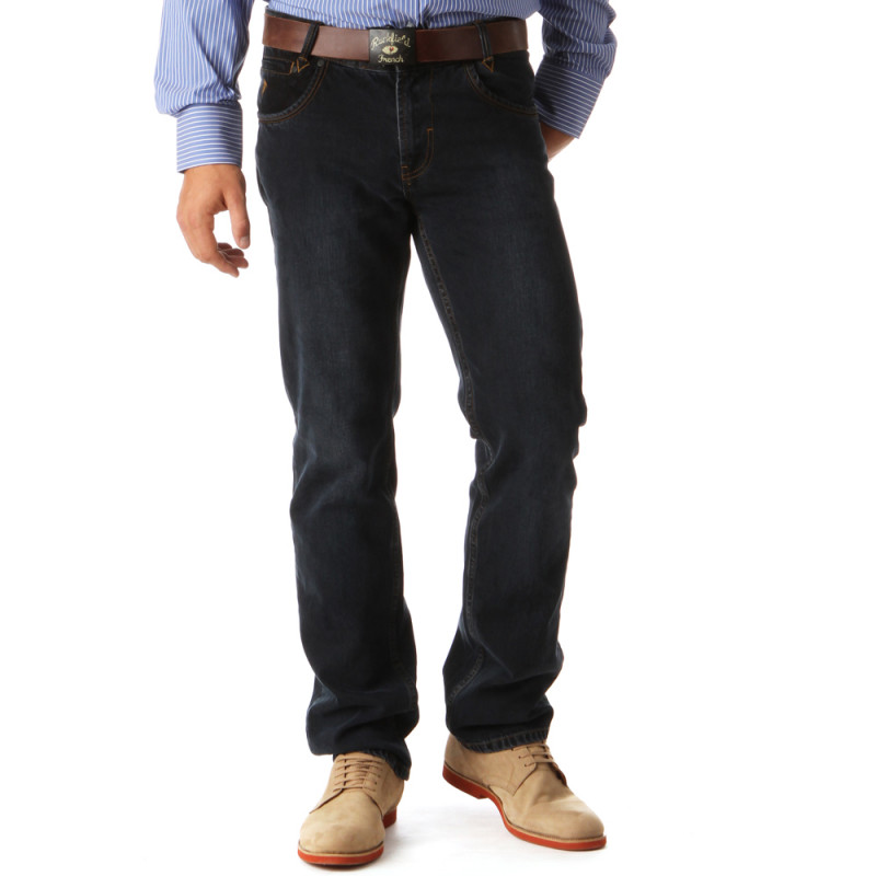 Jeans Regular Bleu