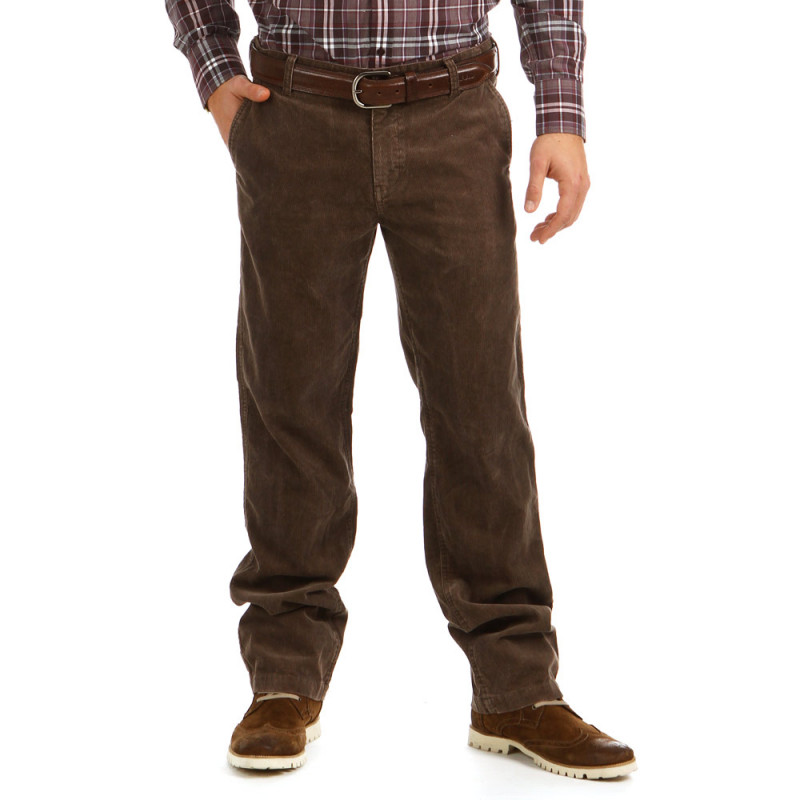 Pantalon Chino Marron