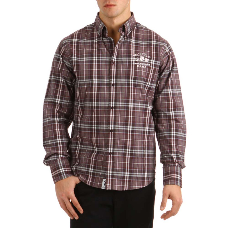 Chemise carreaux Rugby Classic
