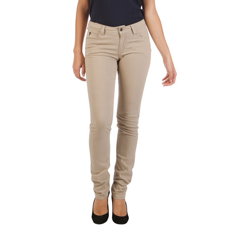 Pantalon Beige Women Basic
