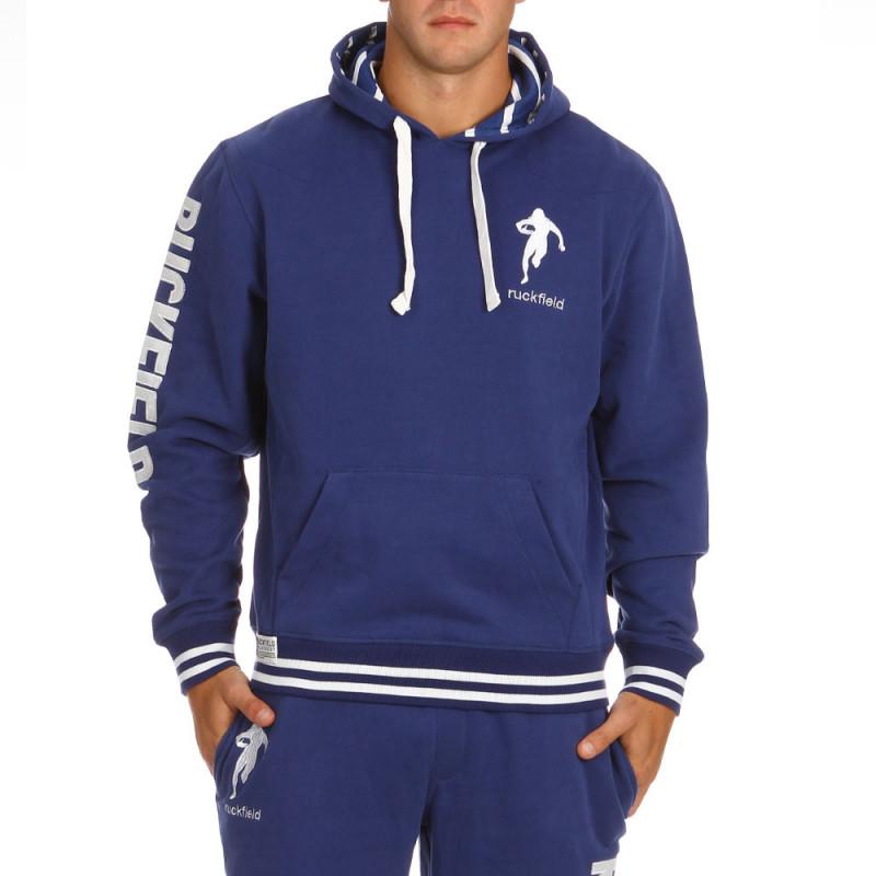 Sweat Molleton Bleu Sport