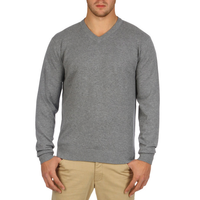 Pull Gris Rugby Esentiels