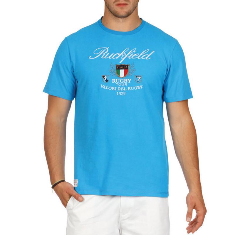T-shirt Italia Azurro