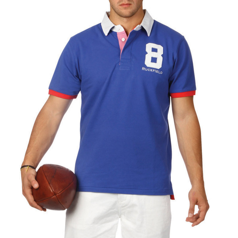 Polo Colors Chabal Bleu