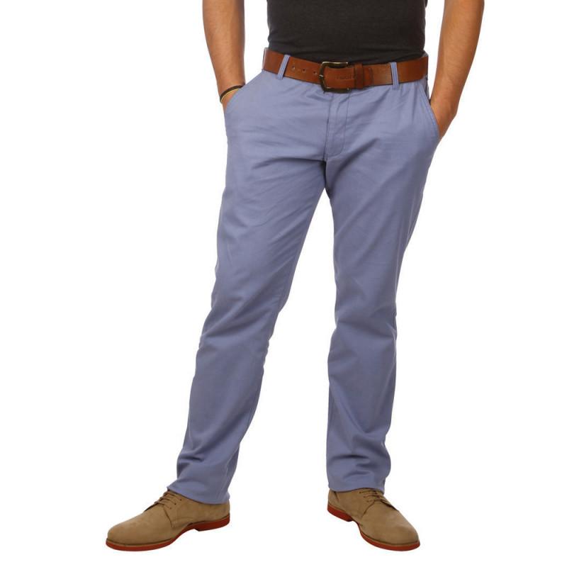 Pantalon Chino Essentiel Bleu