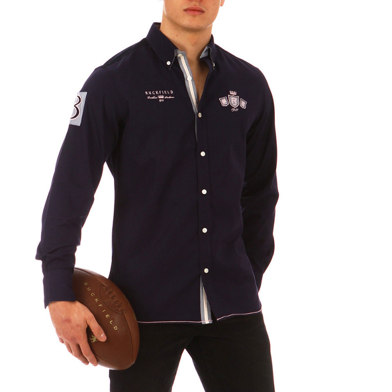 Chemise Rugby Knight Marine