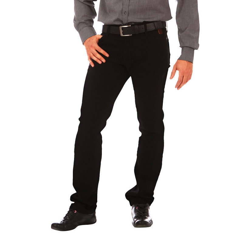 Pantalon 5 poches Rugby Noir