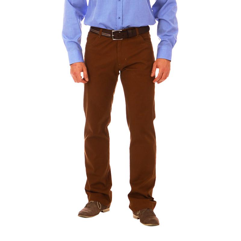 Pantalon 5 poches Rugby Camel