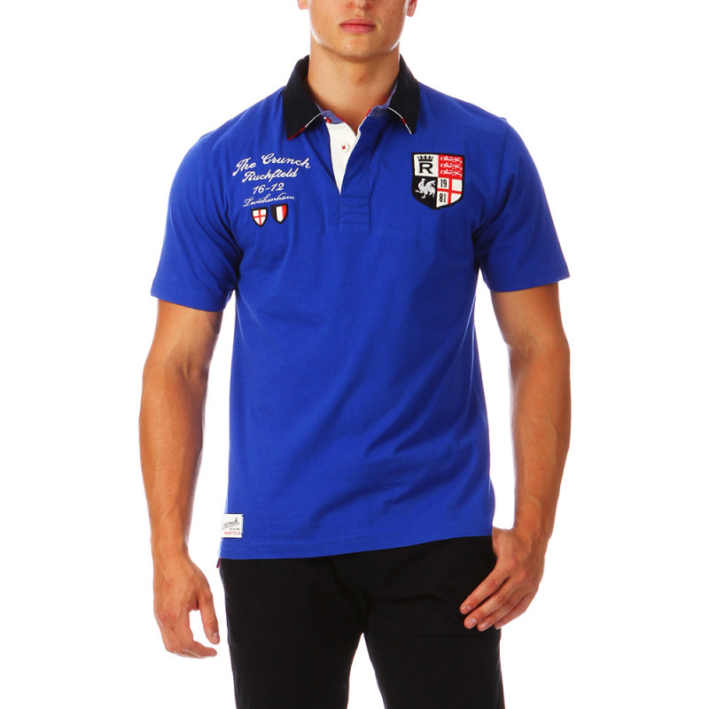 Polo bleu France The Crunch