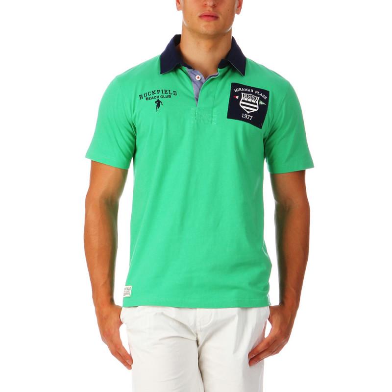 Polo Ruckfield vert