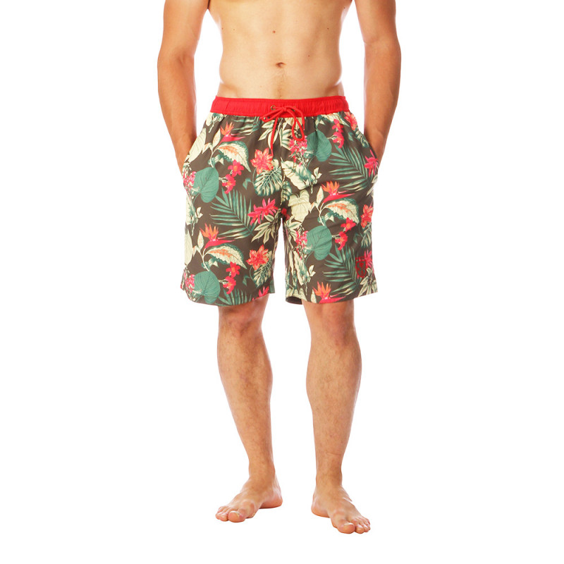Short de bain rugby Hawaiien