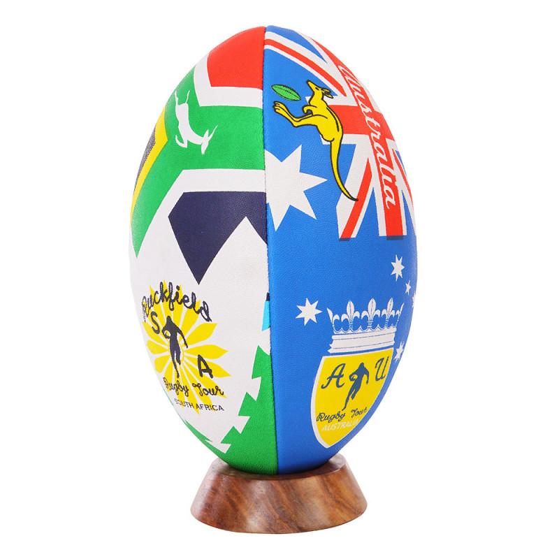 Ballon de rugby hémisphère sud