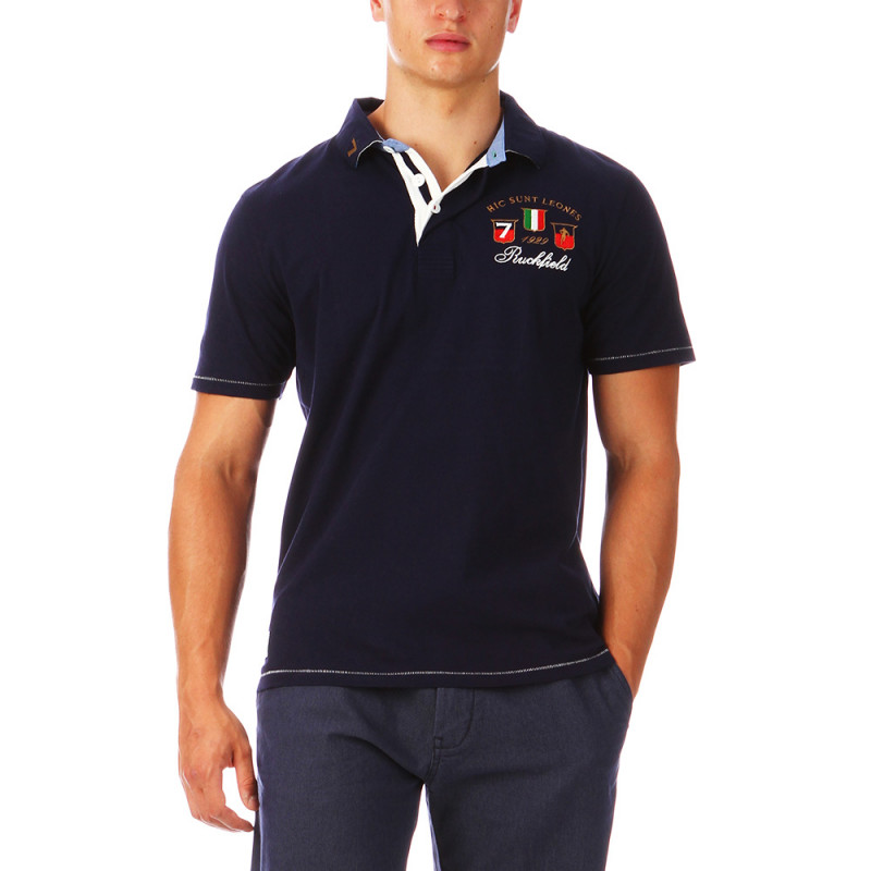 Polo de rugby homme Italie