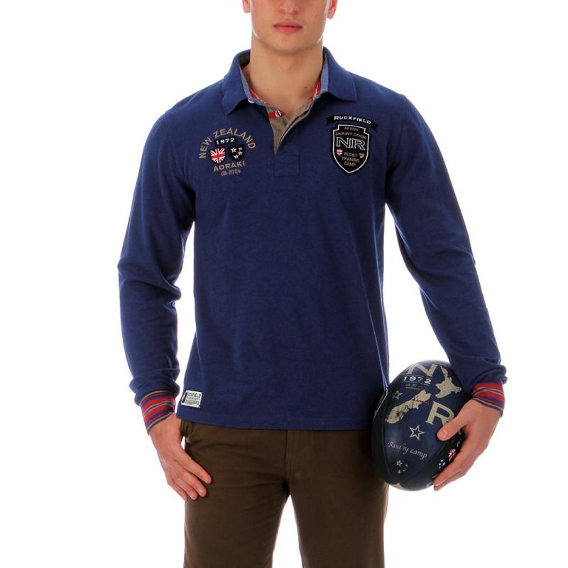 Polo Nouvelle Zélande bleu