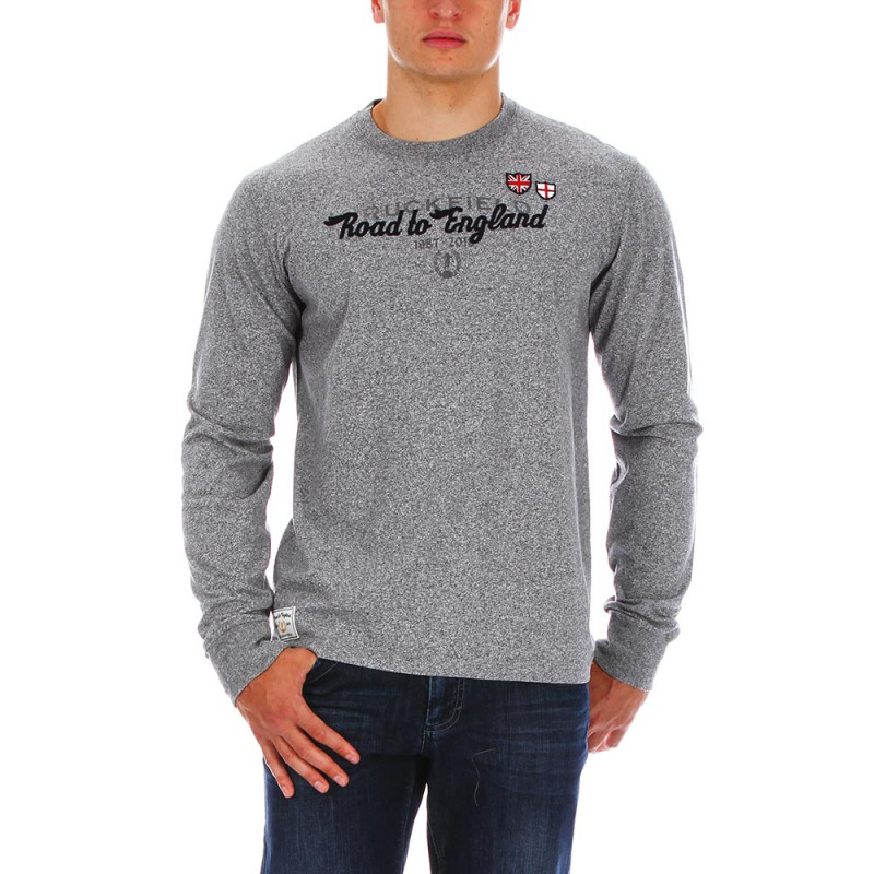 T-shirt Road to England gris
