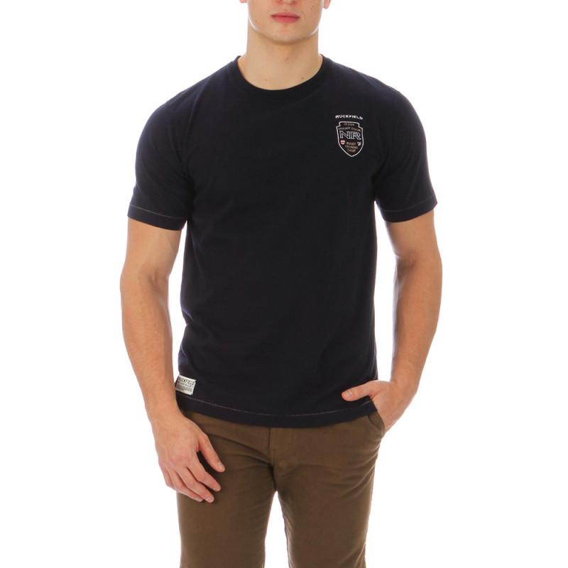 T-shirt noir rugby camp