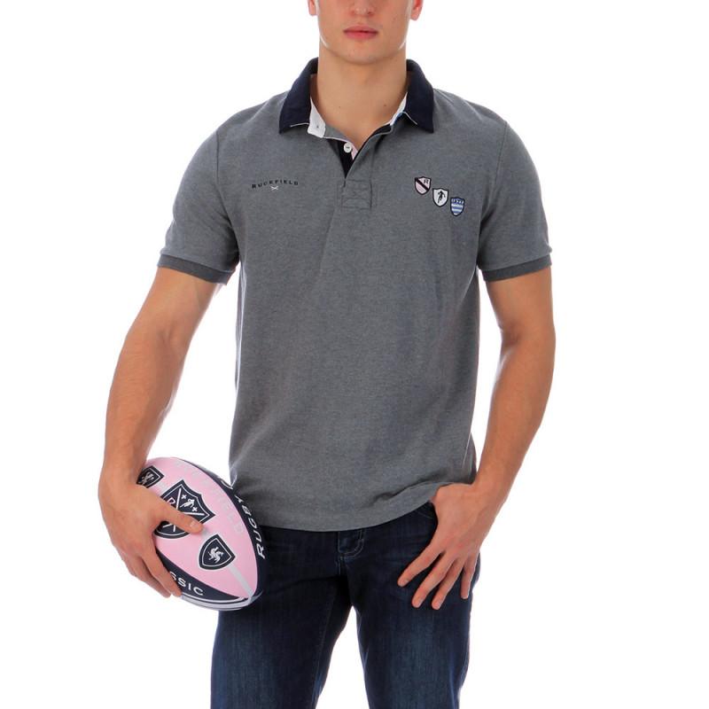 Polo rugbywear gris 1977