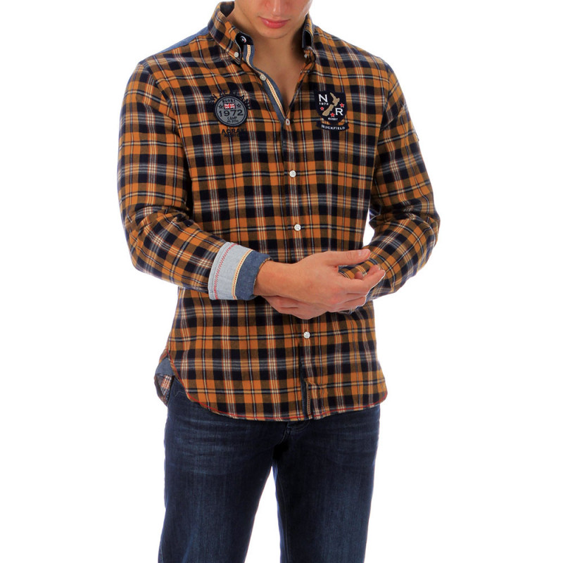 Chemise à carreaux outoor