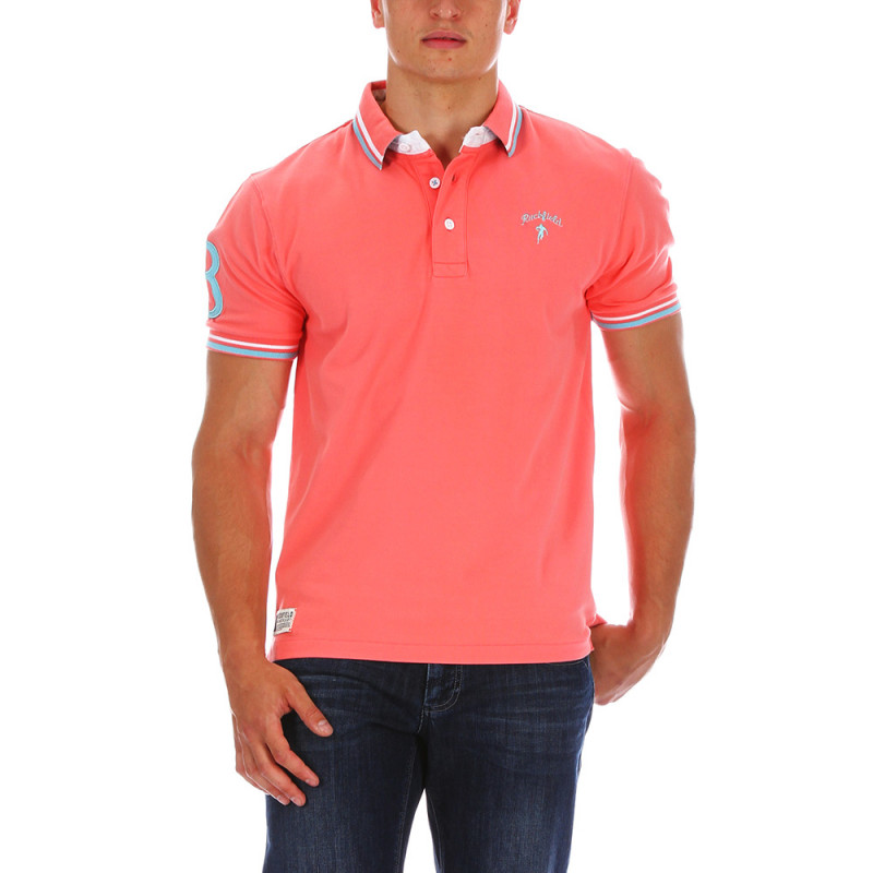 Polo rugby Chabal Rose