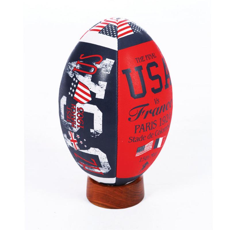 Ballon rugby USA vintage