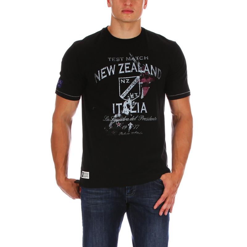 T-shirt Test Match noir