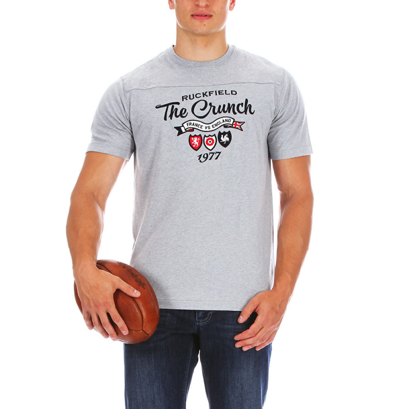 T-shirt gris The crunch