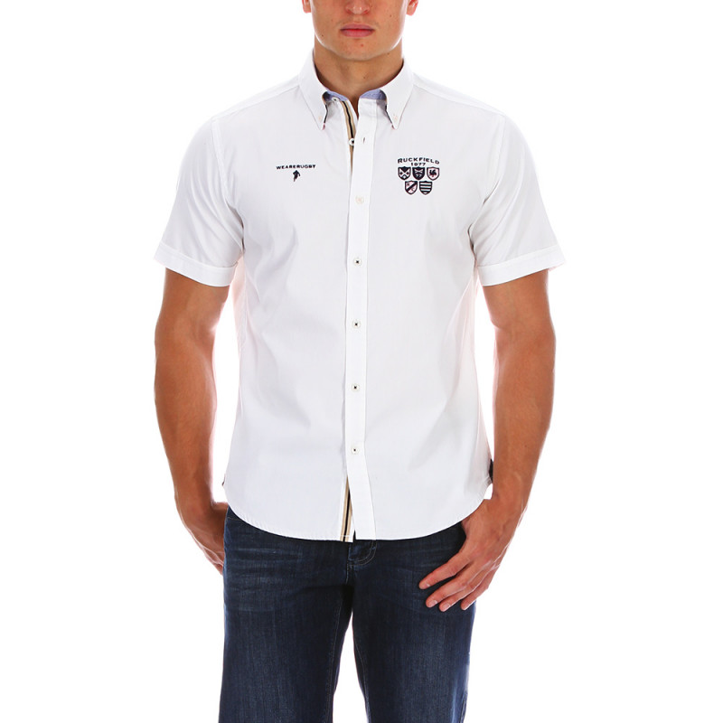 Chemise rugby blanche 1977