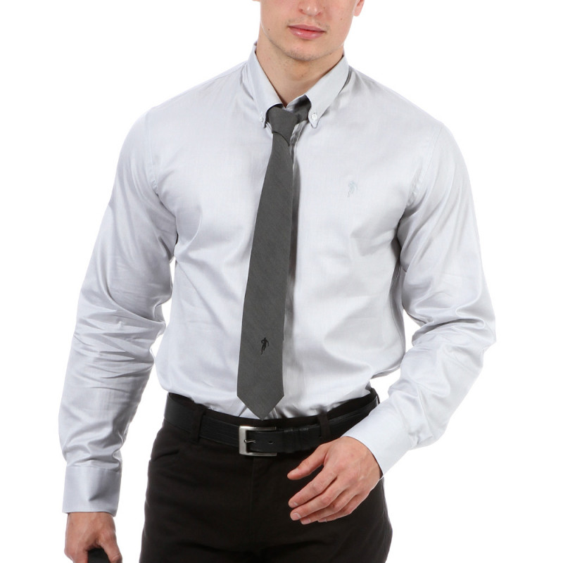 Chemise gris clair Chabal