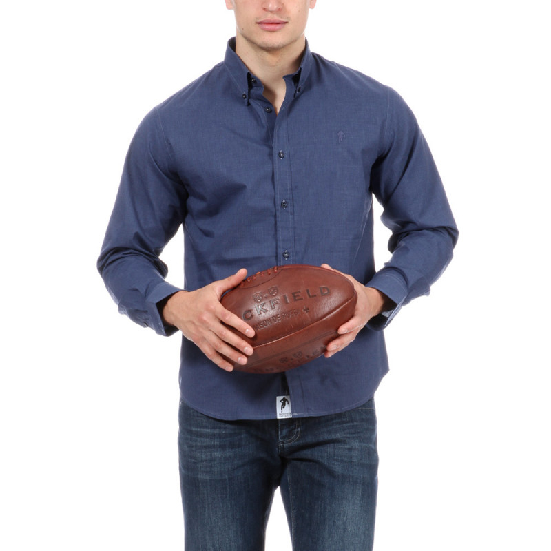 Chemise bleue rugby