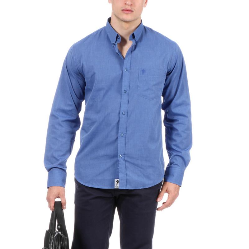 Chemise bleu vif Chabal
