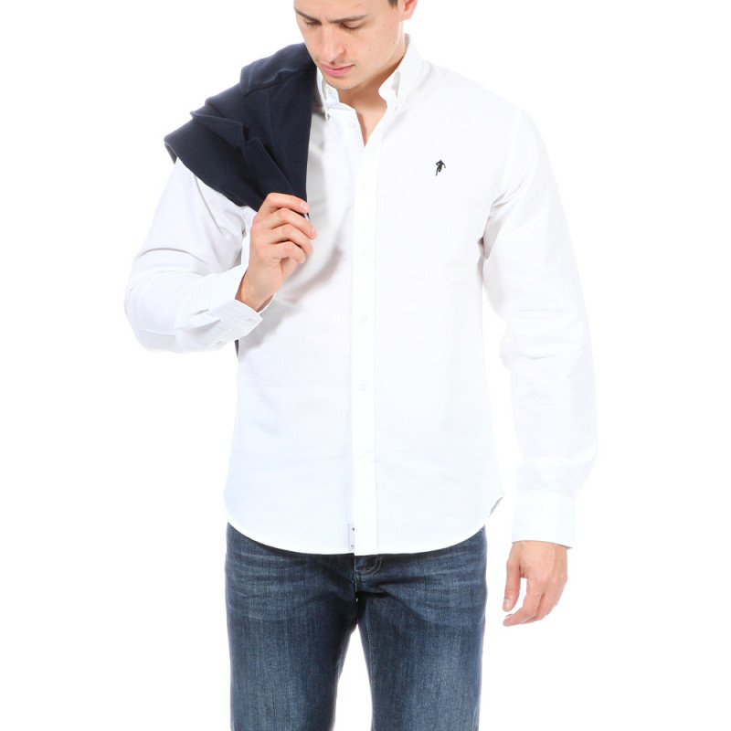 Chemise city blanche Ruckfield