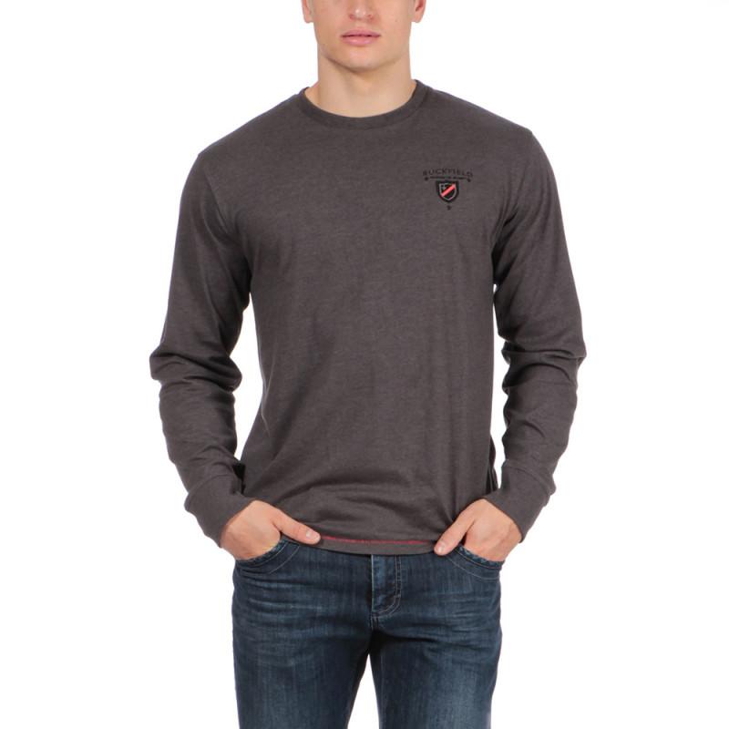 T-shirt de rugby gris Chabal