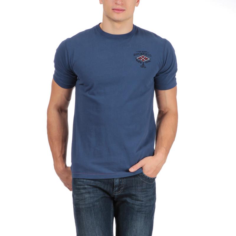 T-shirt bleu rugby camp