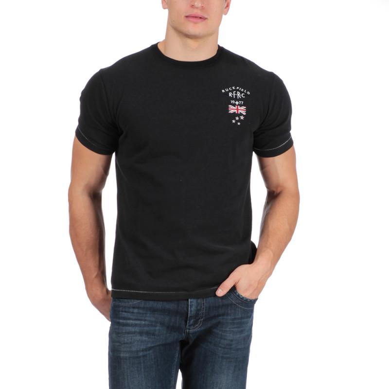 T-shirt de rugby noir