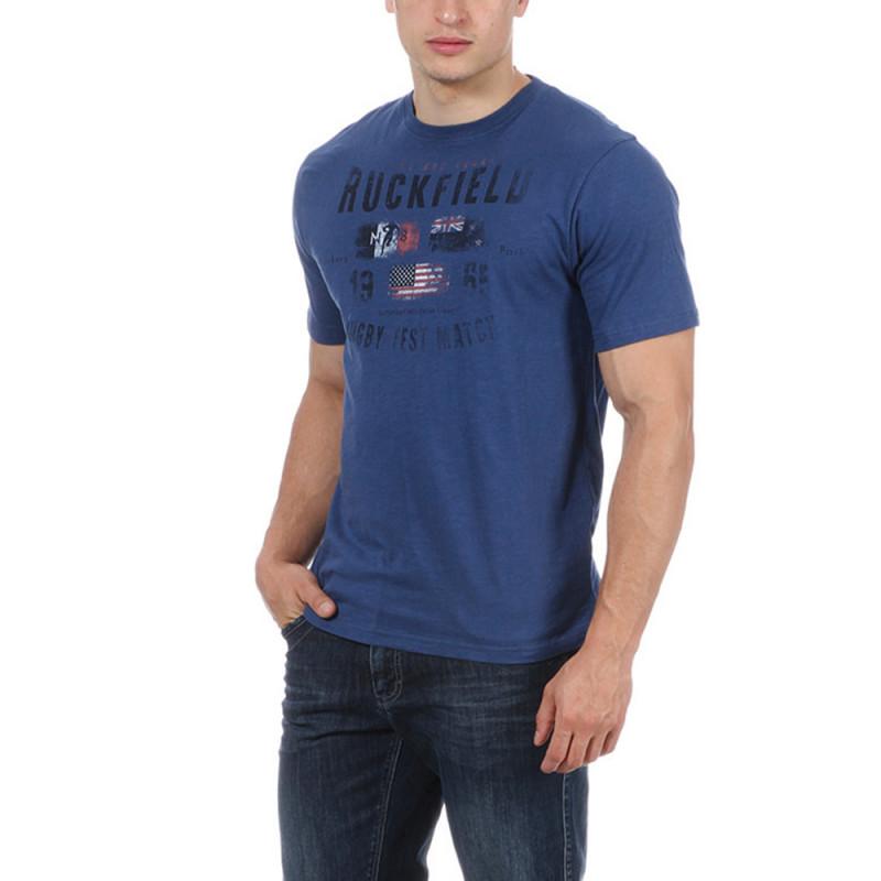 T-shirt Test Match bleu