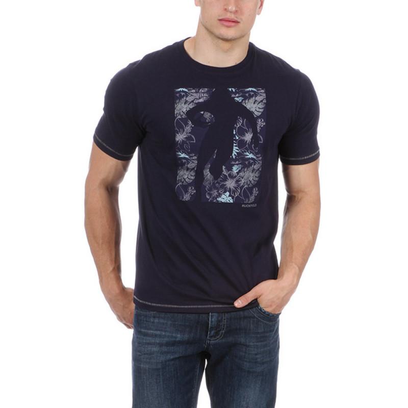 T-shirt bleu rugby Tonga