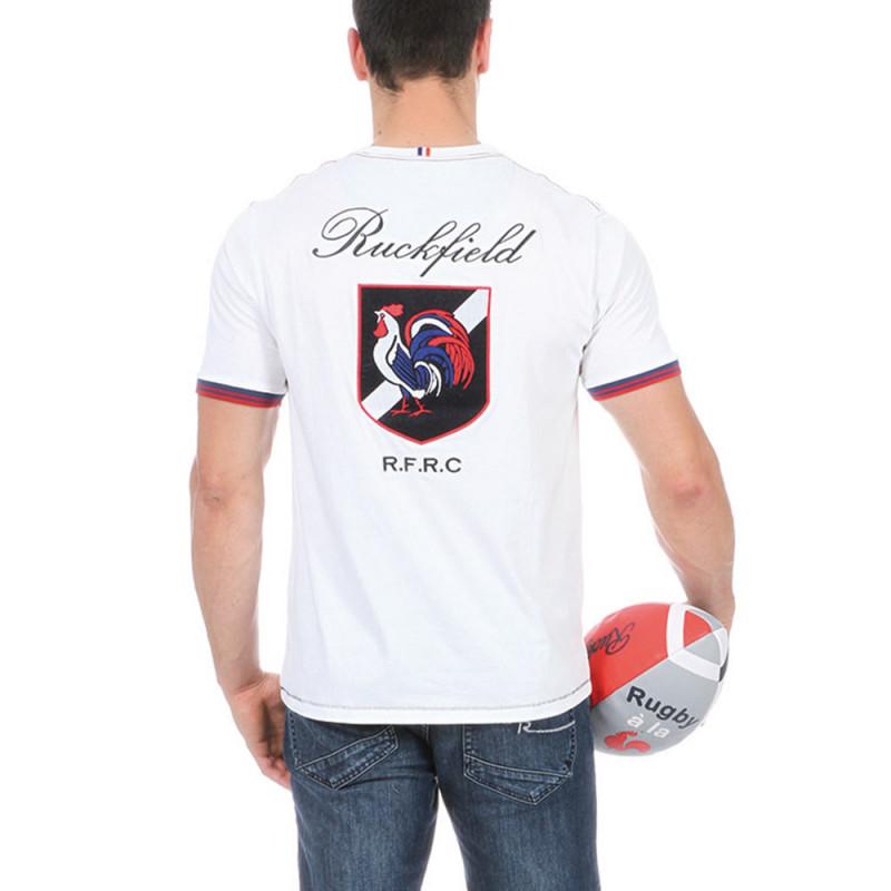 T-shirt blanc FRC rugby
