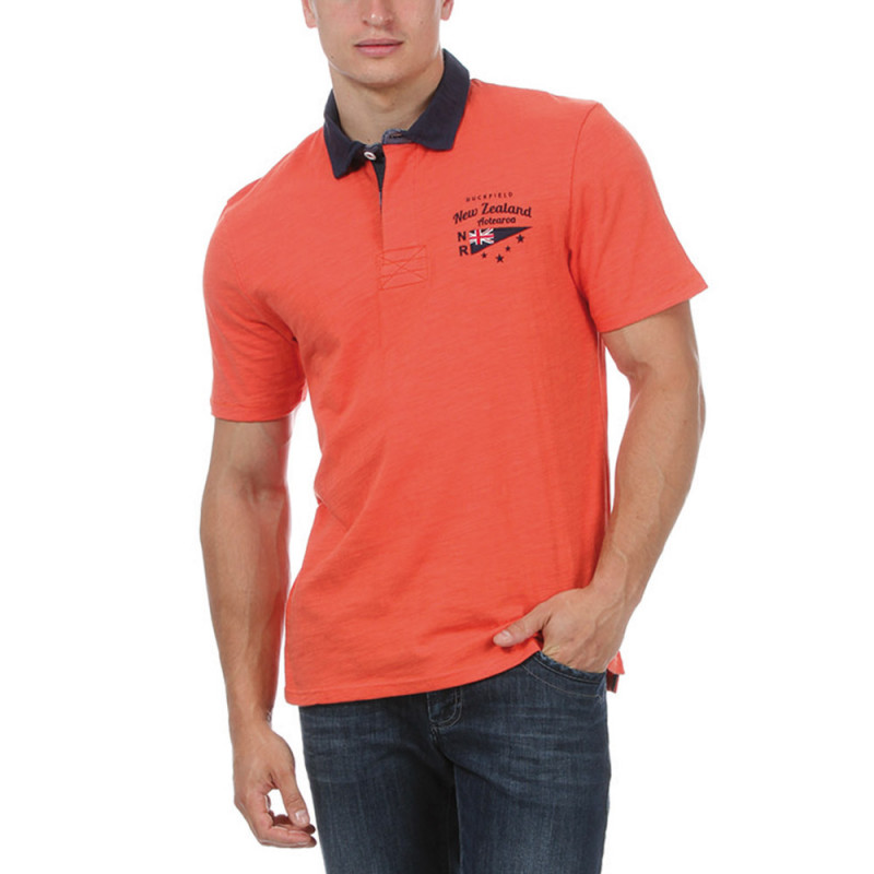 Polo orange rugby