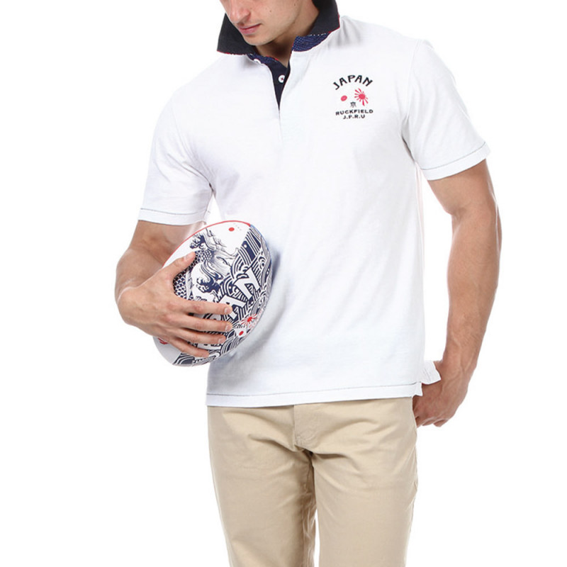 Polo blanc Japan Rugby