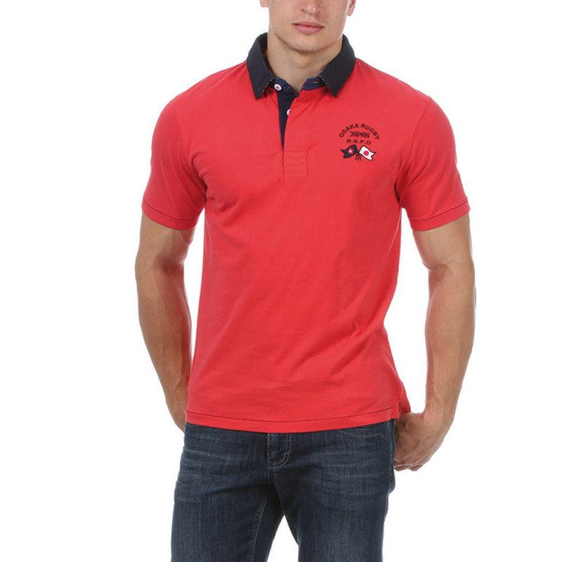 Polo rouge Japan Rugby