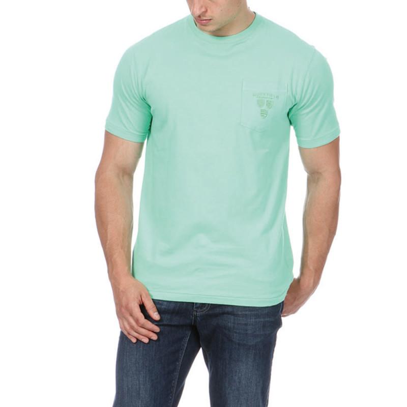 T shirt vert avec poche ruckfield - T shirt avec photo ...